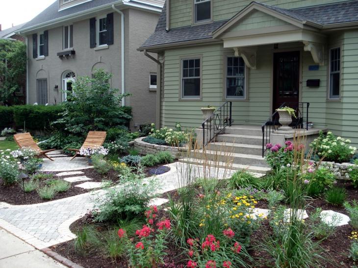 50+ Garden Designs, Ideas | Design Trends - Premium PSD ... on Front Yard Patio Design id=89583
