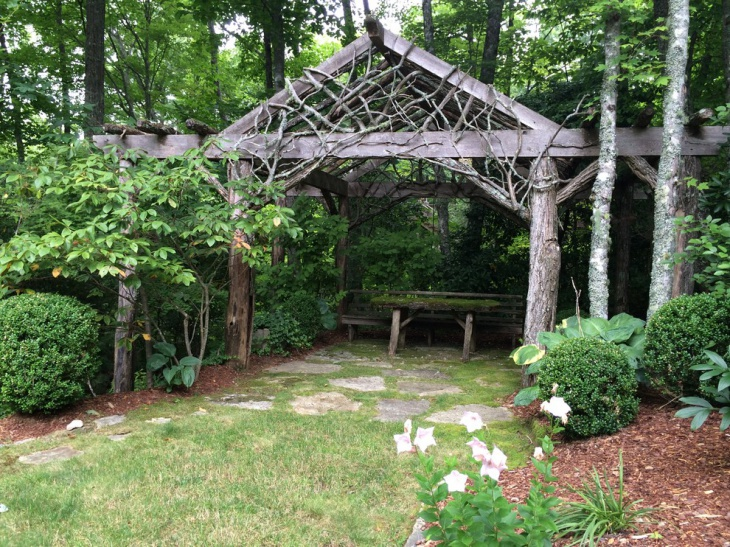 49+ Backyard Designs, Ideas   Design Trends - Premium PSD ... on Wooded Backyard Ideas id=93590