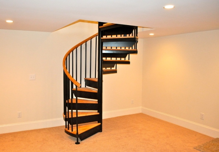 46 Stair Designs Ideas Design Trends Premium Psd Vector | Installing Spiral Staircase To Basement | Steel | Stair Case | Handrail | Loft Staircase | Staircase Remodel