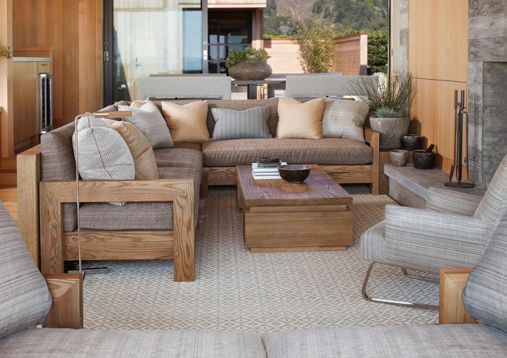16+ Wooden Sofa Designs, Ideas