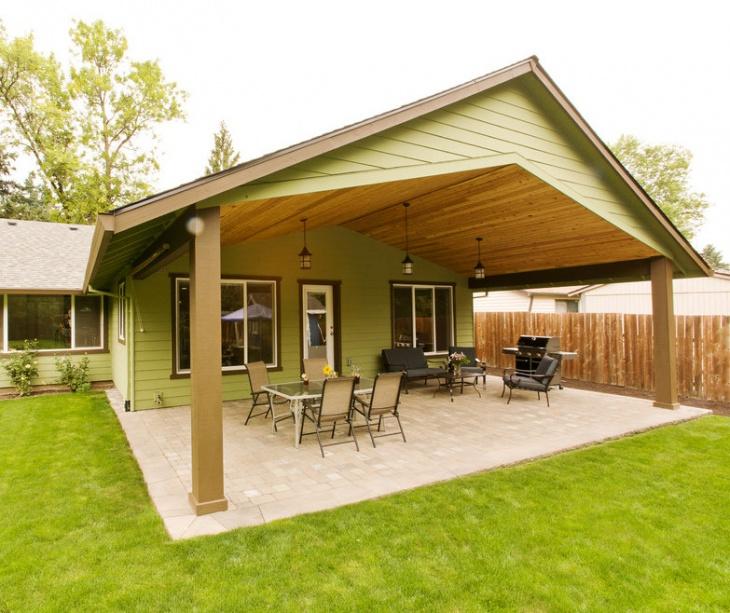 46+ Roof Designs, Ideas | Design Trends - Premium PSD ... on Covered Patio Design Ideas id=56977
