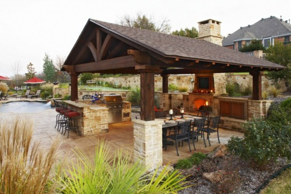 covered outdoor kitchens and patios 46+ Roof Designs, Ideas | Design Trends - Premium PSD