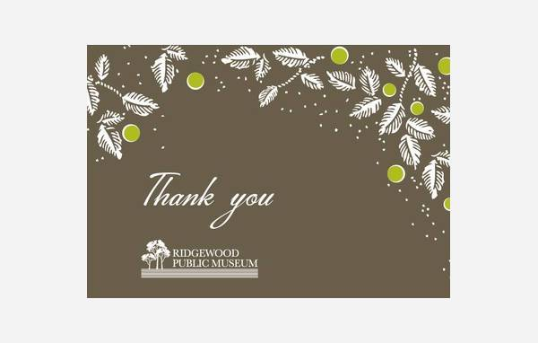 15 Business Thank You Cards Printable PSD EPS Format
