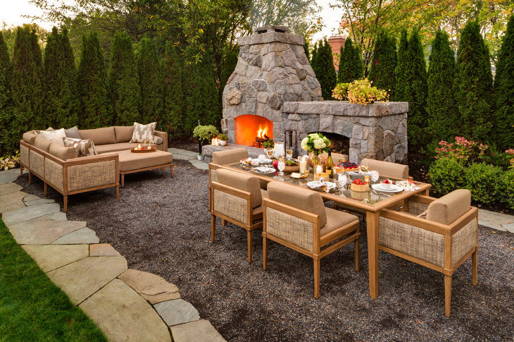 24+ Outdoor Fireplace Designs, Ideas | Design Trends ... on Outdoor Fireplaces Ideas  id=73733