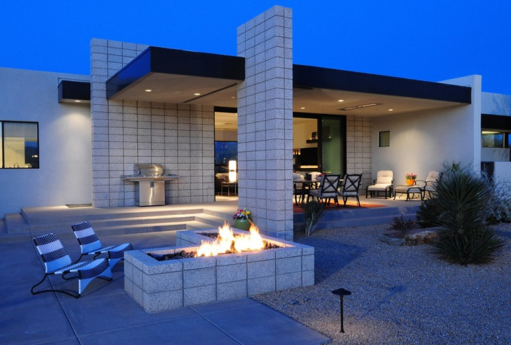 24+ Outdoor Fireplace Designs, Ideas | Design Trends ... on Outdoor Fireplace With Cinder Blocks id=91852