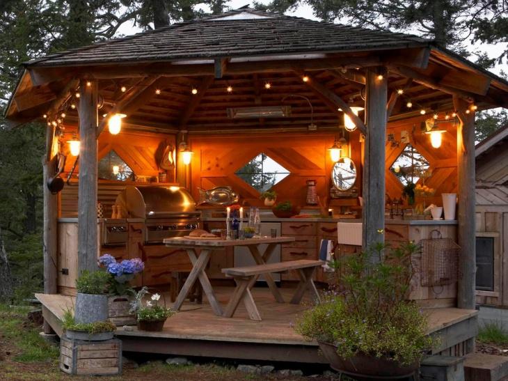 30 Outdoor Kitchen Designs Ideas Design Trends