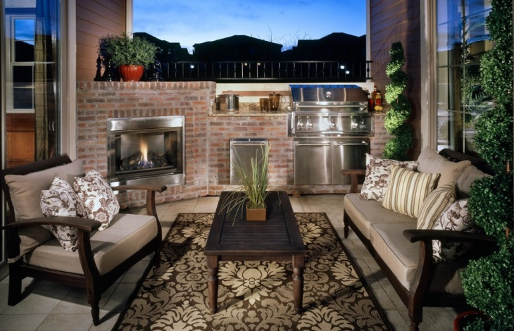 30+ Outdoor Kitchen Designs, Ideas | Design Trends ... on Outdoor Kitchen And Fireplace Ideas id=50385