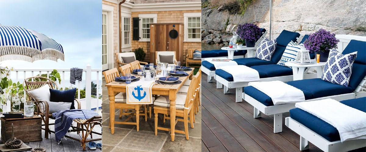Elegant Outdoor Patio Furniture Ideas | Design Trends ... on Nautical Patio Ideas  id=67136