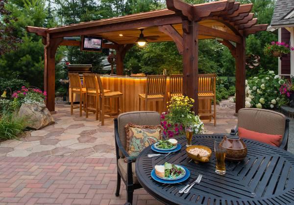 15+ Outdoor Bar Designs, Ideas | Design Trends - Premium ... on Patio With Bar Ideas id=28933