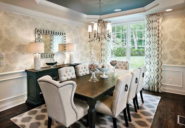 tufted dining room chairs | best chair design ideas