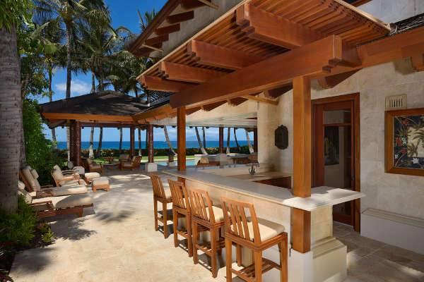 15+ Outdoor Chaise Lounge Designs, Ideas   Design Trends ... on Backyard Lounge Area Ideas id=32686
