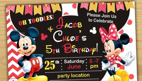 43 birthday invitation designs word