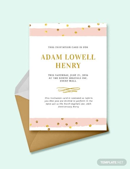 33 event invitation designs psd