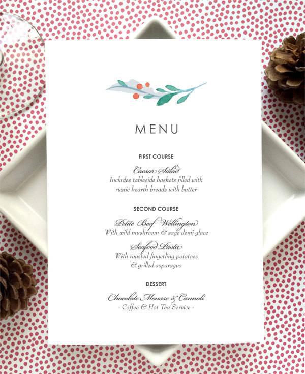 Party Menu Designs Design Trends Premium PSD Vector