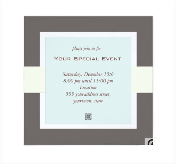 28 Business Invitation Designs Design Trends Premium