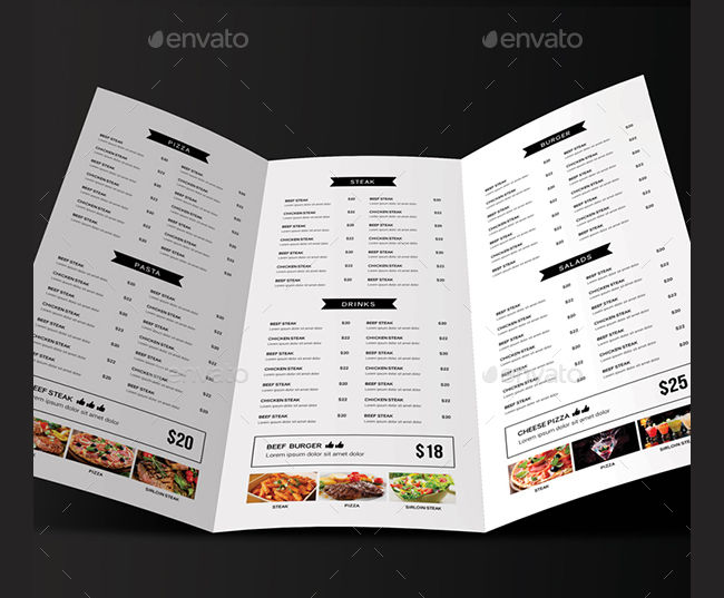 17 Minimalist Menu Designs AI PSD Google Docs Design Trends Premium PSD Vector Downloads