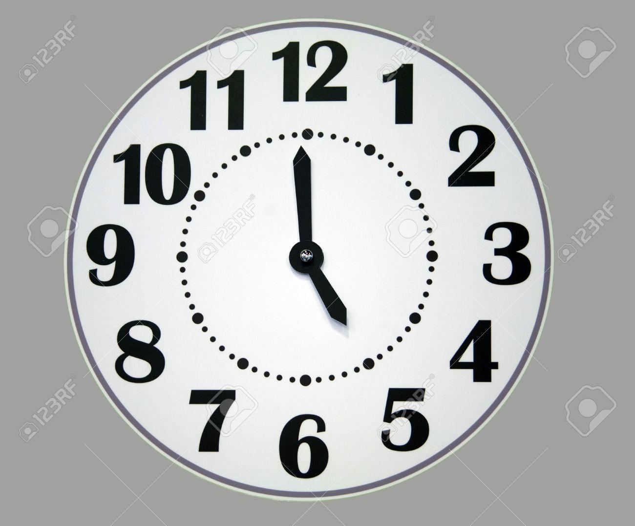 Striking Free Printable Clock