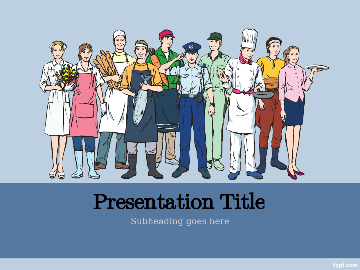 3 Labor Day Powerpoint Templates Design Trends