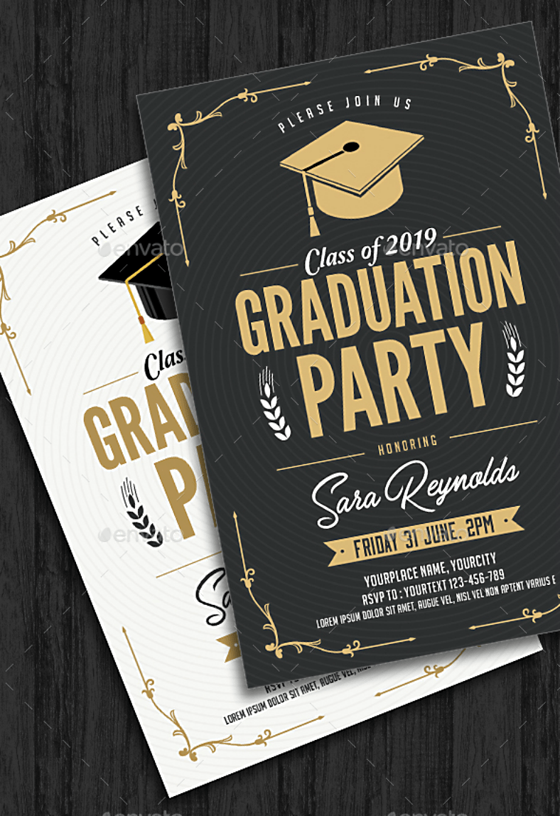 Quality Graduation Invitations