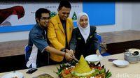Pelajar Muhammadiyah dan NU Gelar Tasyakuran HUT ke-70 RI