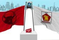 Jajaki Koalisi Pilgub DKI, PDIP-Gerindra Yakin Kalahkan Incumbent
