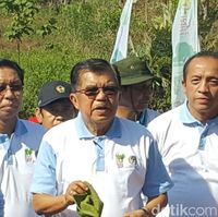 Wapres Canangkan Gerakan Menanam Bambu Nasional di Gowa Sulsel