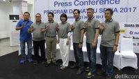 Manajemen Daihatsu dalam jumpa pers di Gorontalo
