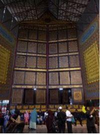 Alquran raksasa di Ponpes Modern Gandus, Palembang (Foto: detikTravel)