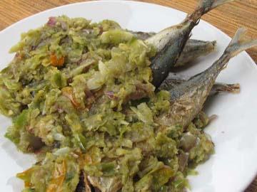 Resep Ikan: Pindang Ikan Bumbu Rawit