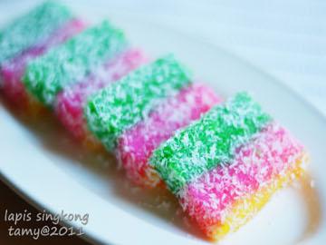 Resep Kue: Kue Lapis Singkong