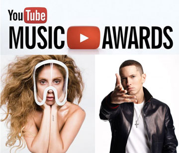 Nominasi YouTube Music Awards 2013