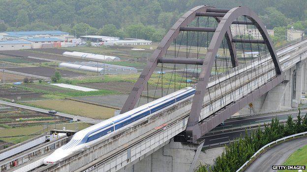 Wuss, Jepang Punya Kereta Tercepat Dunia Berkecepatan 603 Km/Jam