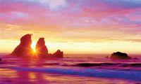 Sunrise di Chuam (Sumber: forum.detik.com)