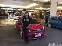 Honda Brio Pink Ladies