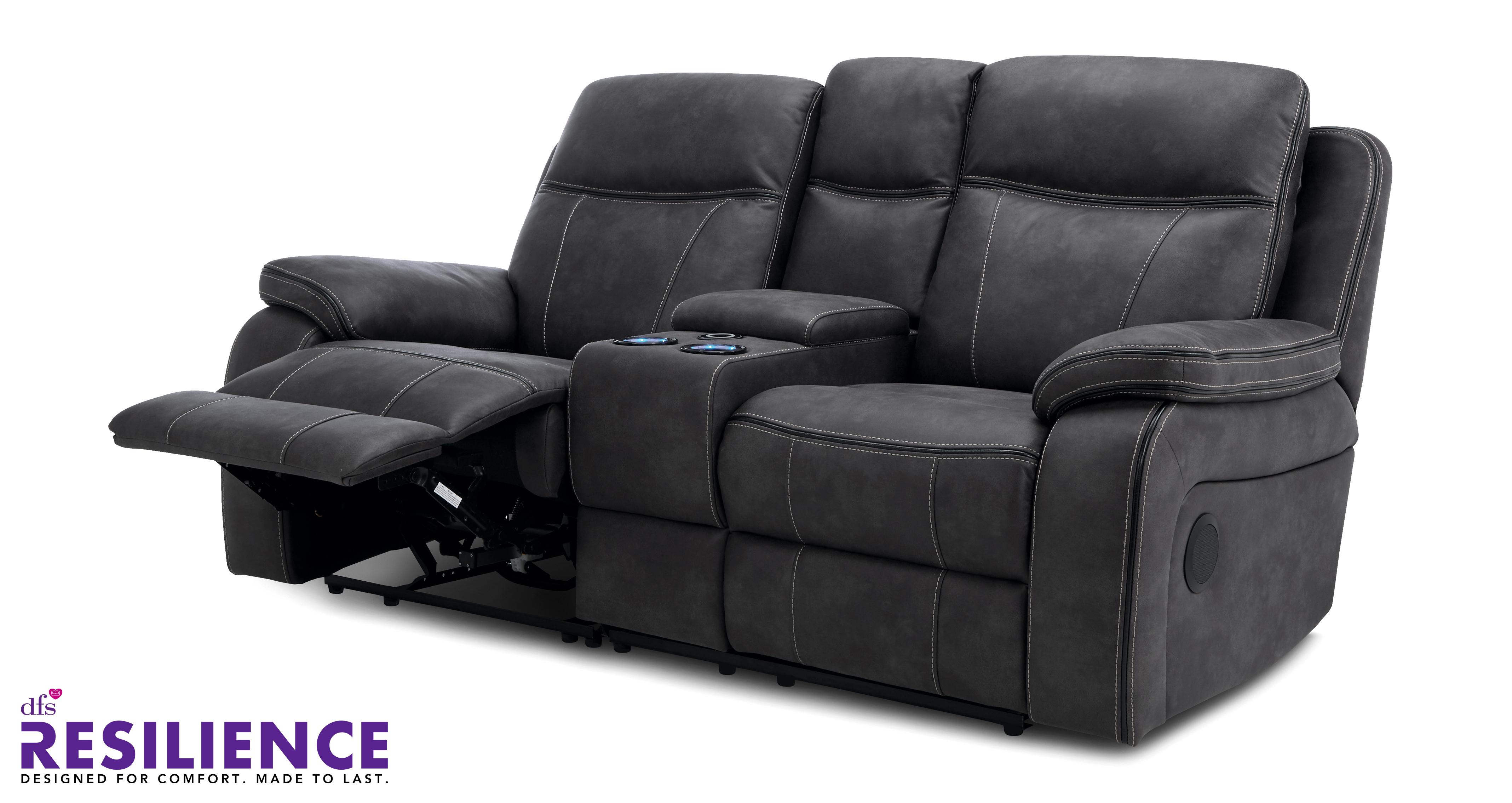 vinson 2 seater smart power recliner