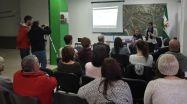 Una imagen de la charla ofrecida en el Centro Andaluz de El Puerto.
