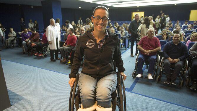 La medallista paralímpica Teresa Perales.