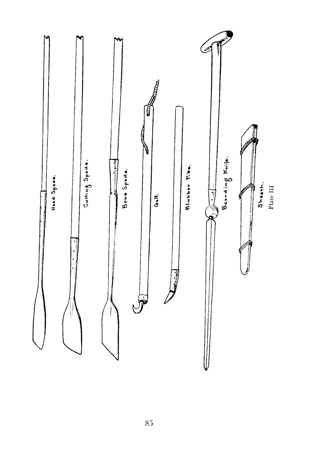 Whaling Tools I