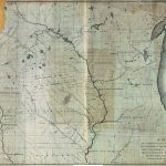 A Map Of A Portion Of The Indian Country Lying East And West Of The Mississippi River To The Forty Sixth Degree Of North Latitude From Personal Observation Made In The Autumn