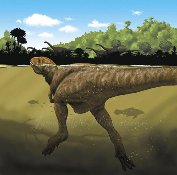 Tyrannotitan Pictures Amp Facts The Dinosaur Database