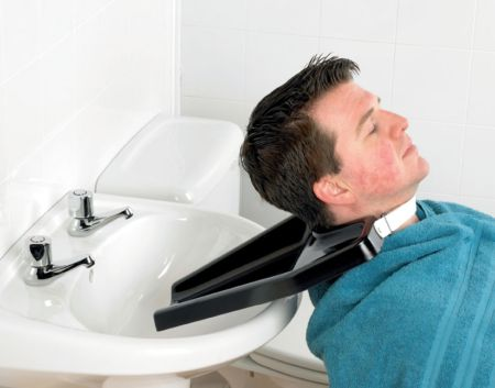 economy portable hair washing tray