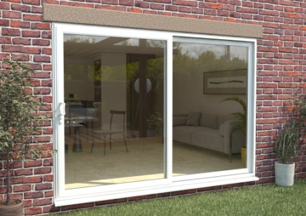 climadoor part q upvc sliding patio doors white