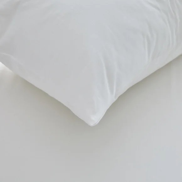 freshnights cotton zipped pair of pillow protectors