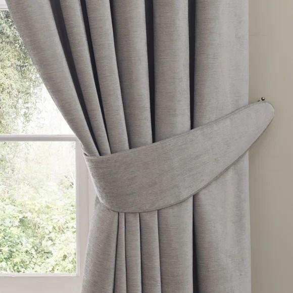 dorma lymington grey tiebacks