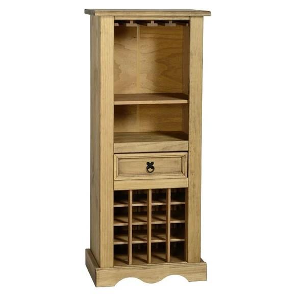 corona pine wine rack
