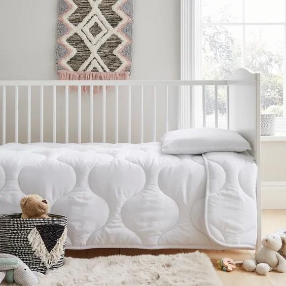 fogarty little sleepers forever fresh antibacterial 7 tog duvet and pillow set