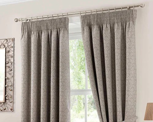 How to hang pencil pleat curtains on track for Pencil pleat curtains on track