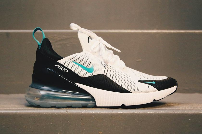 "best value 7ca45 a2d35 Nike Air Max 270 ""Teal"" new color Preview first! – Kicks ..."
