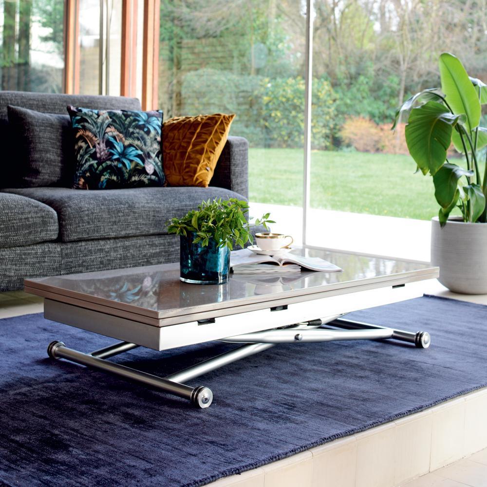 salire extending coffee table stone dwell 499