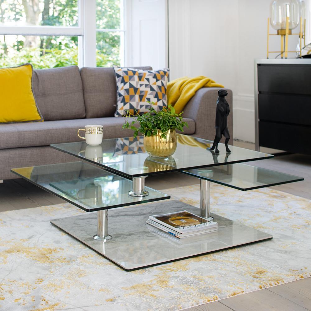 motab coffee table light grey marble ceramic base dwell 499